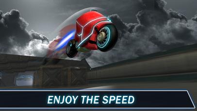 Light Bike: Neon Riptide Racing 3D Full Screenshot on iOS