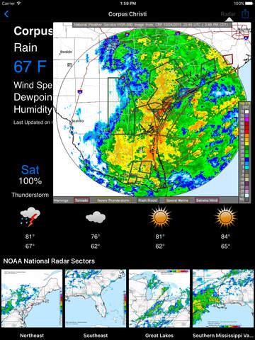 NOAA Weather Radar - iOS Weather Apps - AppDropp