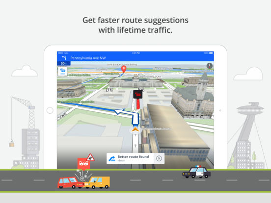 Sygic Middle East: GPS Navigation IPA Cracked for iOS Free Download