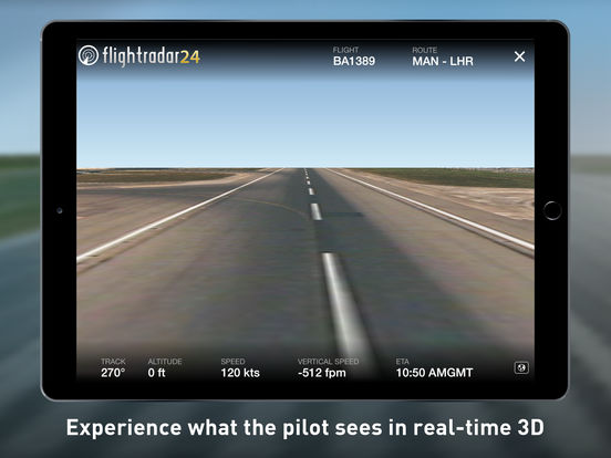 Flightradar24 - Flight Tracker Screenshot