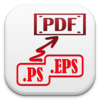 PS-to-PDF : Batch convert .PS & .EPS files to PDF for Mac