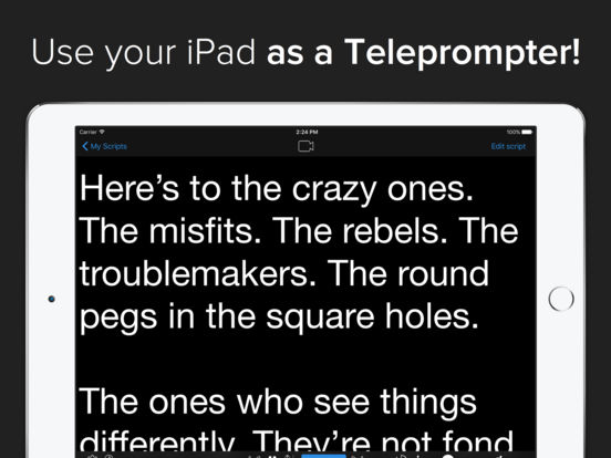 The best teleprompter apps for iPhone - appPicker