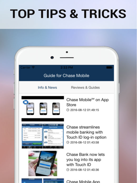 how to enable fingerprint on chase app
