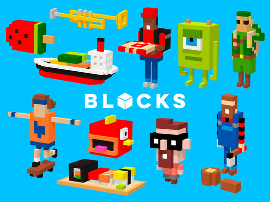 Tayasui Blocks Screenshot