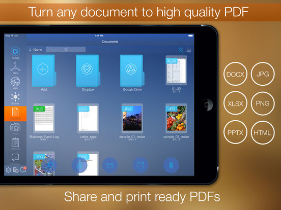 PDF Printer Screenshot