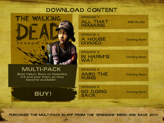 Walking Dead The Game Season 2 Ipa Cracked For Ios Free