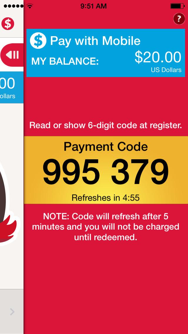 My Wendy's — Mobile Payment, Restaurants, Nutrition & Menus Screenshot