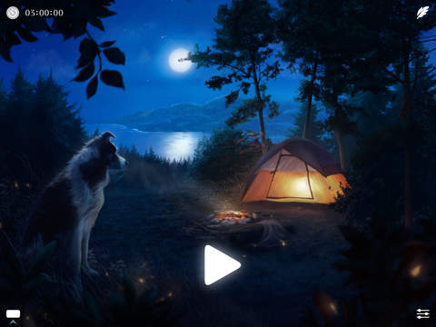 Windy ~ Sleep Relax Meditate with natural white noise sounds to calm your mind and focus Screenshot