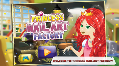 Princess Nail Art Factory Make Beauty Salon Makeover Items In