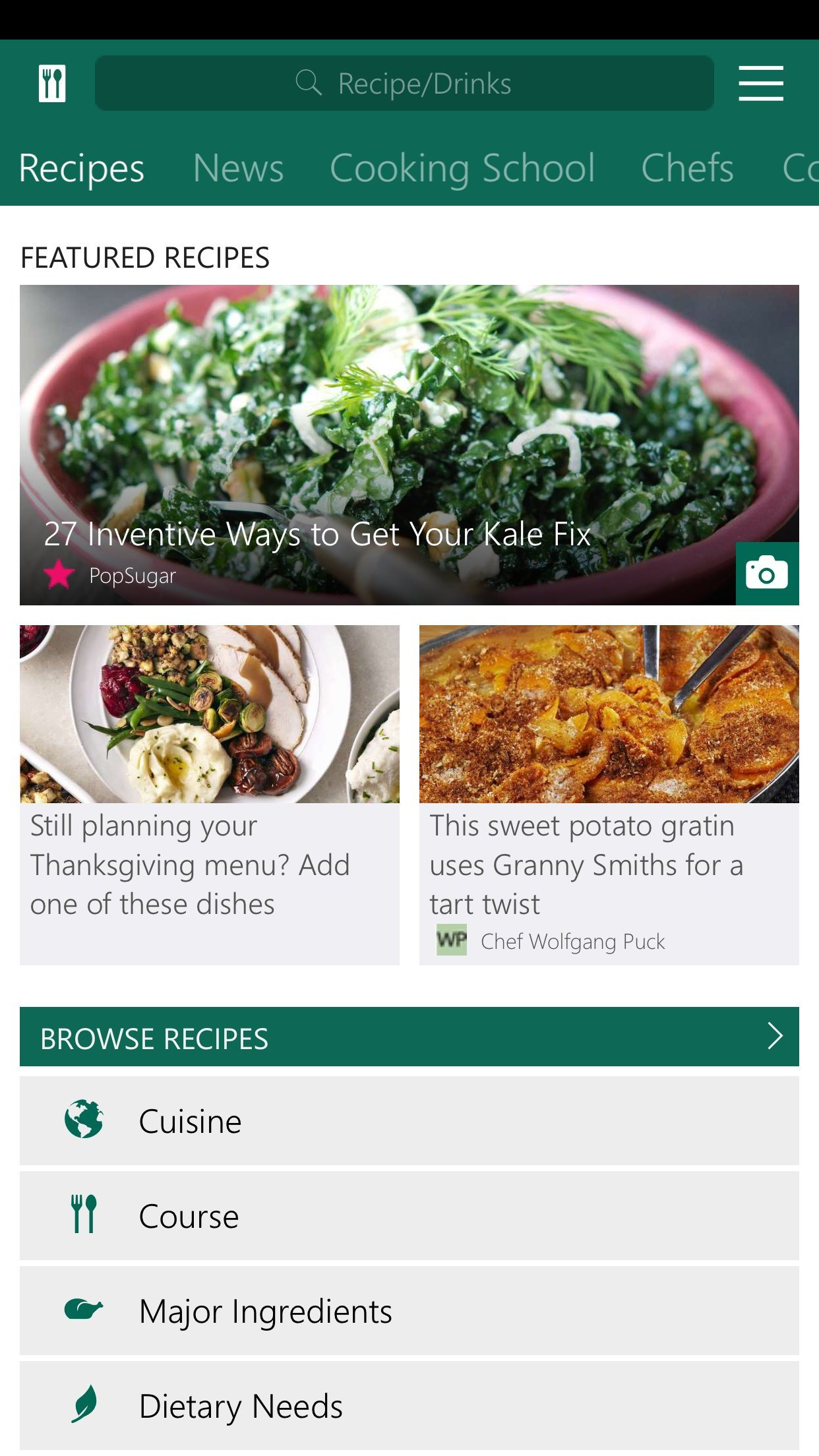 MSN Food & Drink screenshot-1