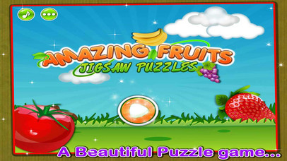 Amazing Fruits Jigsaw Puzzle Screenshot on iOS