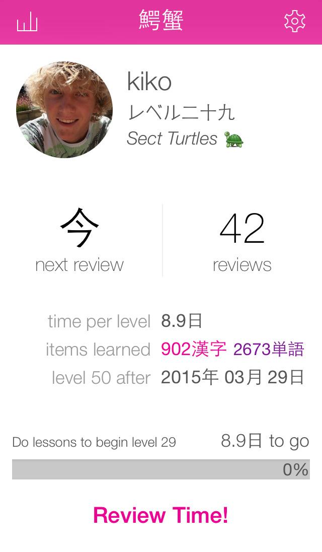 About: WaniKani - Learn Kanji (iOS App Store version)   WaniKani