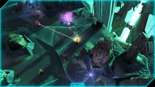 Halo: Spartan Assault Screenshot