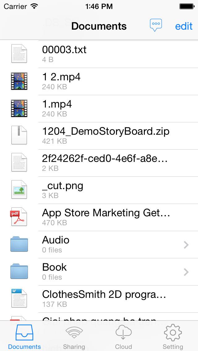 Files App Manager Lite - Smart Manager Document Screenshot