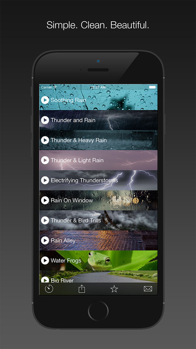 Nature Melody — Soothing, Calming, and Relaxing Sounds to Relieve Stress and Help Sleep Better (Free) Screenshot