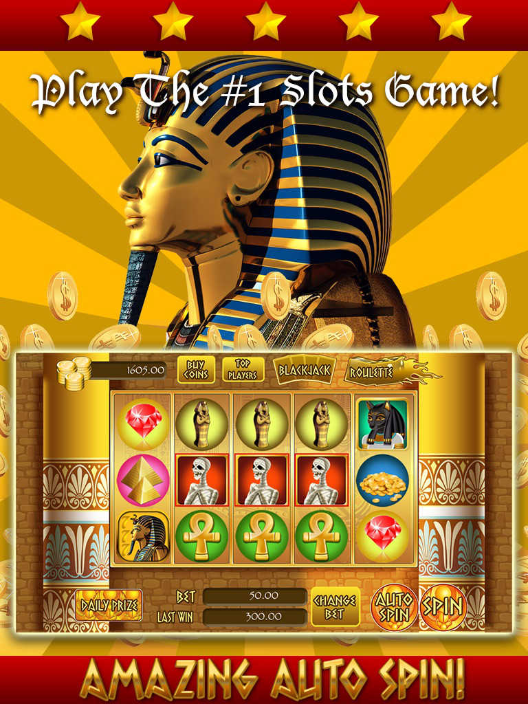 The Last Pharaoh Slot Machine