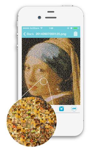 Mosaic art poster creation! - Mosaic Maker | free iPhone app | App