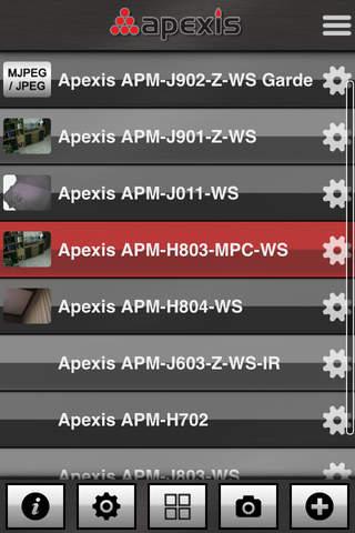 980305500317 Apexis FC - mobile ip camera surveillance studio - iOS Utilities ...