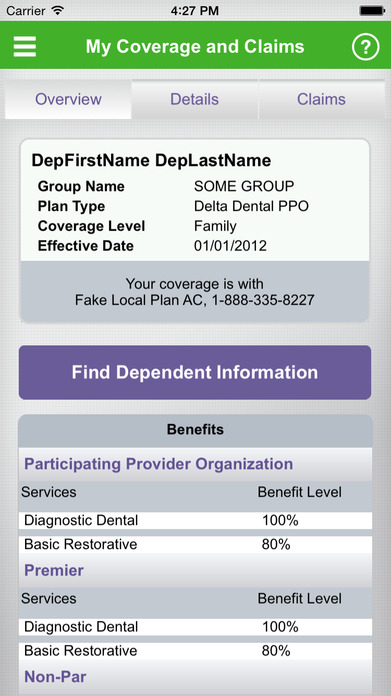Delta Dental Mobile Screenshot