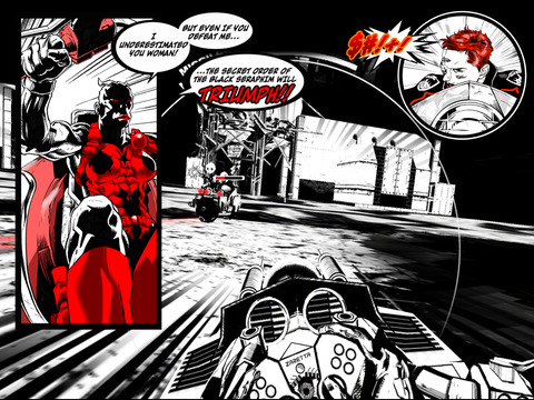 SXPD: Extreme Pursuit Force. The Comic Book Game Hybrid Screenshot