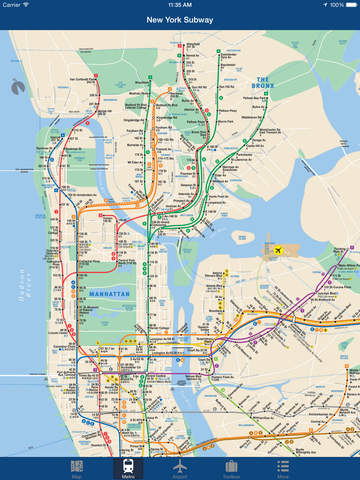 Subway Map Planner.Top 10 Punto Medio Noticias Trip Planner New York Metro