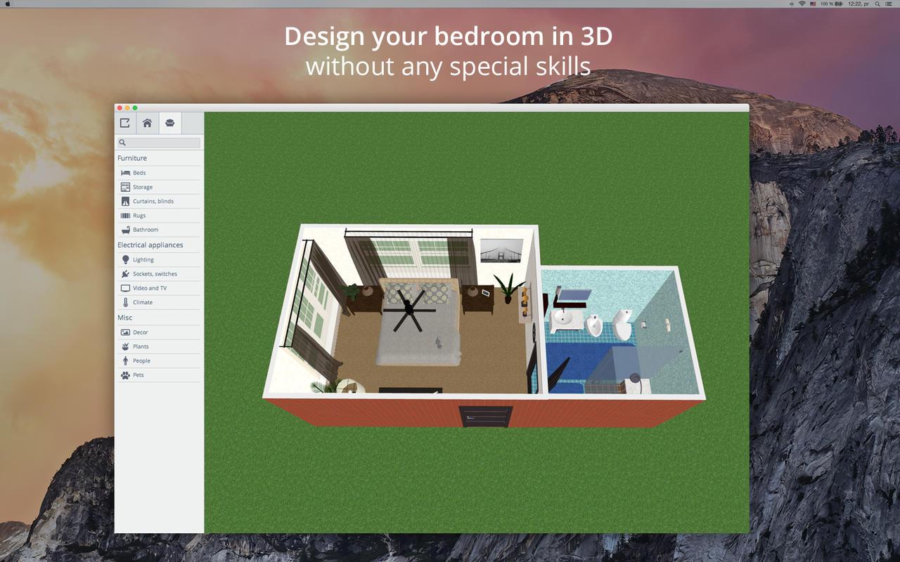 App Shopper: Bedroom Design 5D