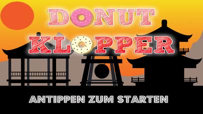 Donut Klopper - Zerteile die Donuts wie ein Ninja Screenshot on iOS