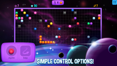 Snakes in Space Screenshot on iOS