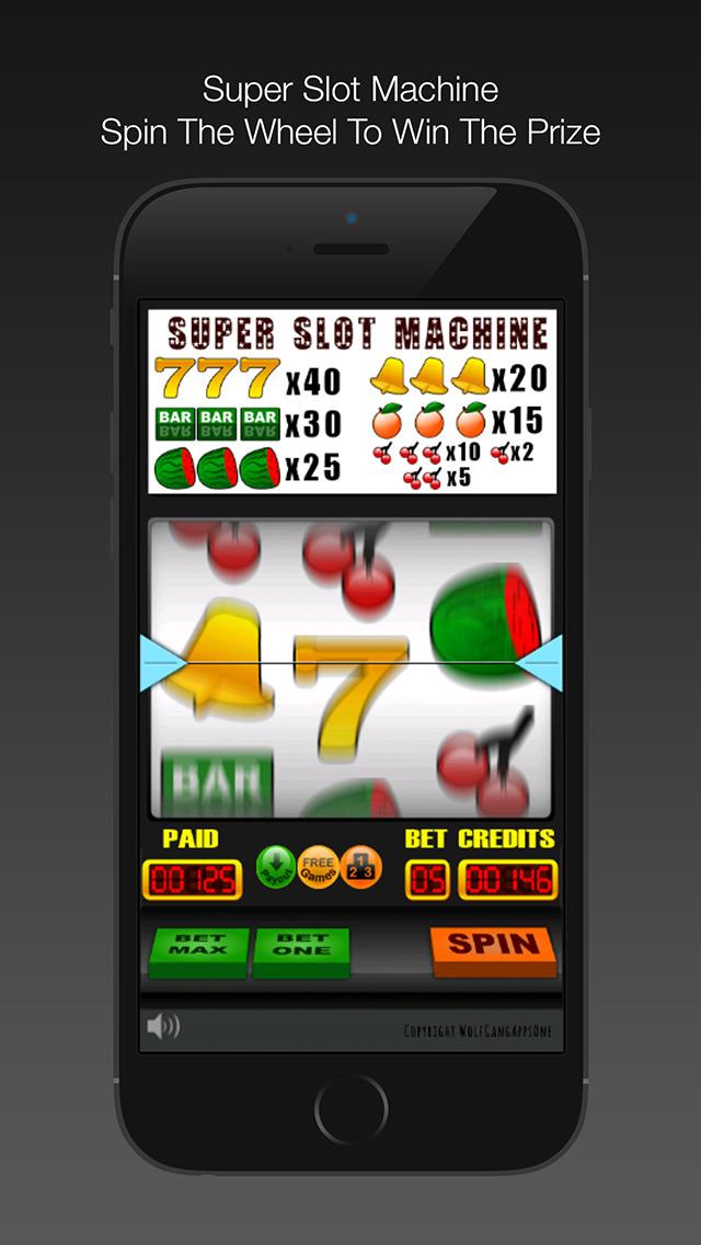 Spin To Win Slot Machine