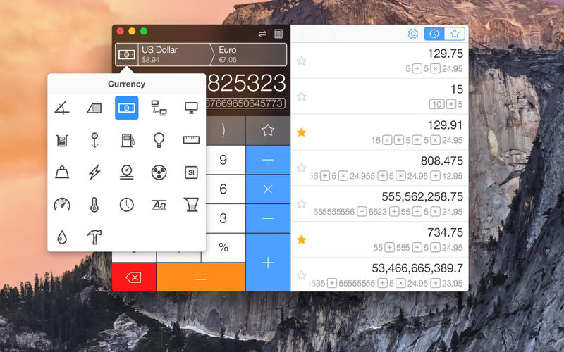 Calcbot - The Intelligent Calculator and Unit Converter Screenshot