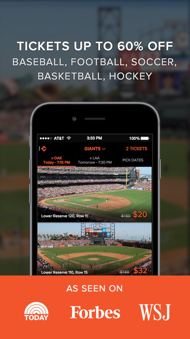 Gametime - sports tickets delivered to your phone Screenshot
