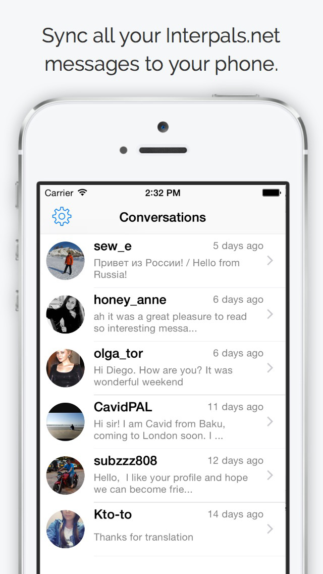 Chat for Interpals | FREE iPhone & iPad app market