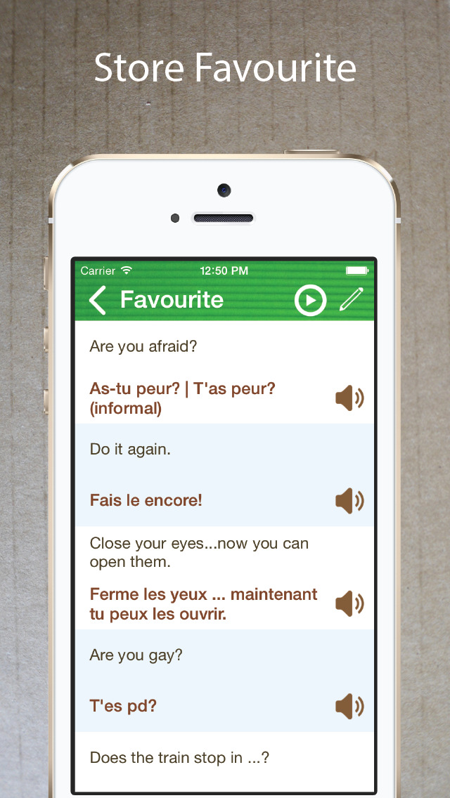 Learn French - Phrasebook for Travel ・Study ・ Business - free offline language words phrases vocabulary learning with audio pronunciation voice for course beginner,kids to speak in France Screenshot on iOS