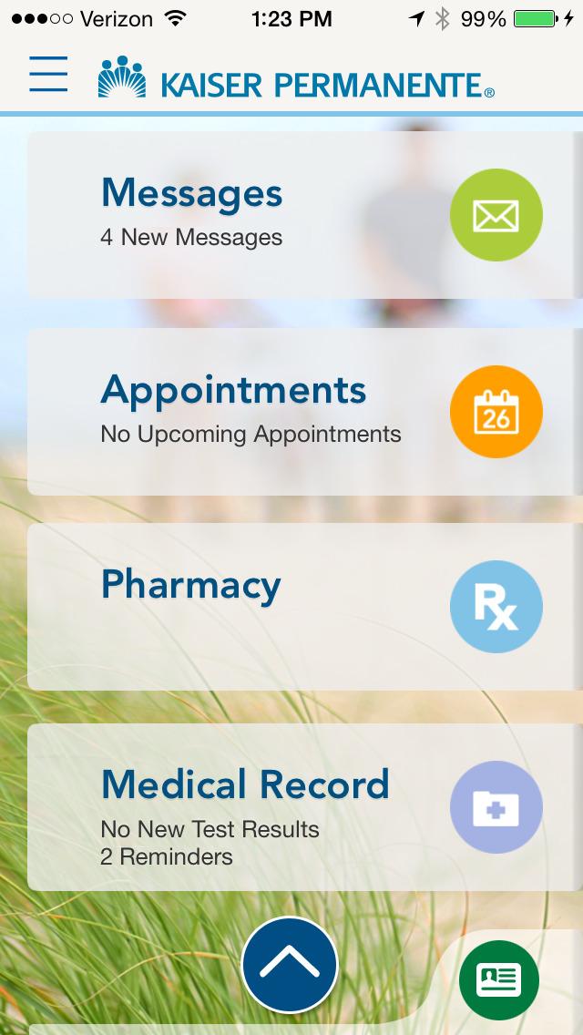 Kaiser Permanente Screenshot