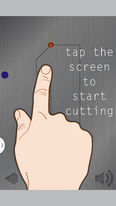 Number Cutter Writing Game Screenshot on iOS