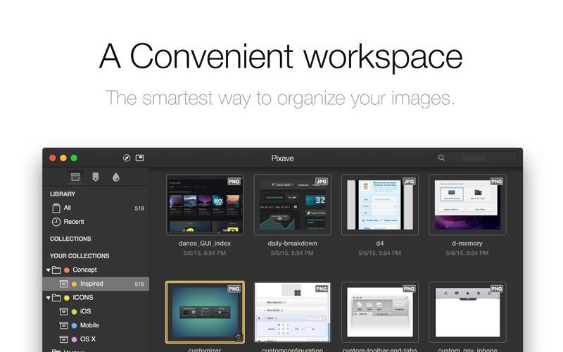 Pixave 图片管理软件[Mac][¥98→¥68]丨反斗软件值得买