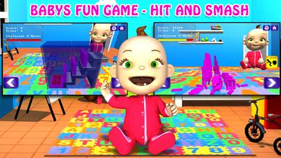 Babys Fun Game - Hit And Smash Screenshot on iOS