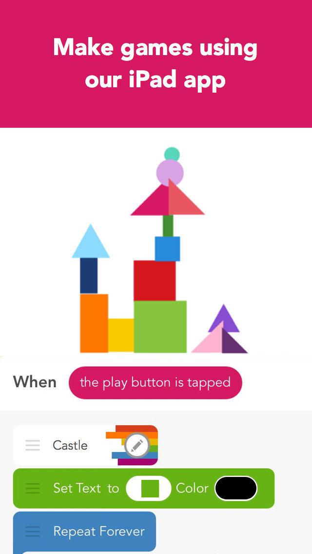 Download Hopscotch: Make games! Learn to code  Coding made easy! App