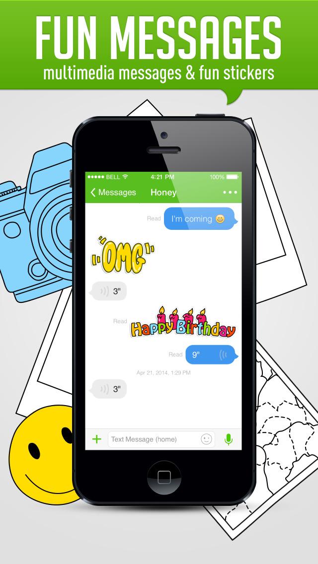 HiTalk - Free international and local calling & texting Screenshot