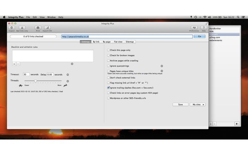 Integrity Plus for Mac