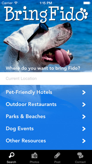 Bring Fido Is An Essential For All The Dog Find Pet Friendly Parks Restaurants And Attractions At Tap Of A Touch Screen