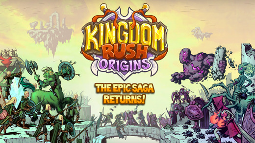 Kingdom Rush Origins для iPhone, iPad и Android