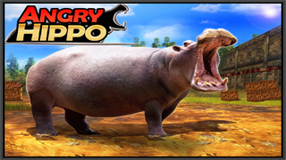 Angry Hippo Screenshot on iOS