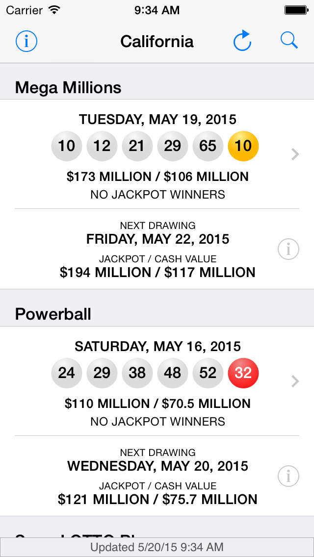 fl lotto winning numbers powerball