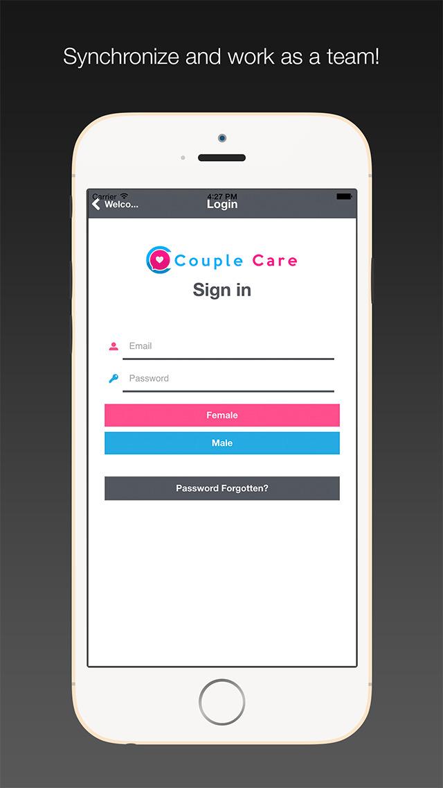 Couple app login