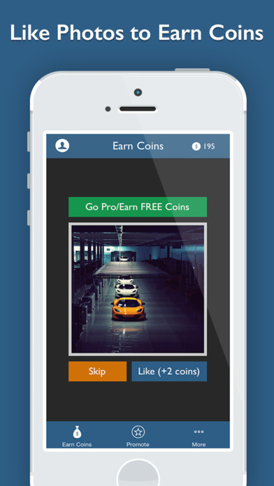 LikeHero - Boost your social presence on Instagram with likes Screenshot on iOS
