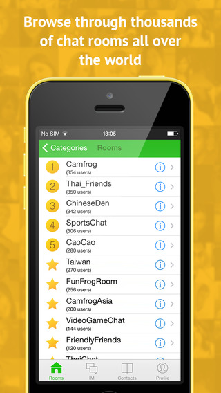 camfrog free download for iphone