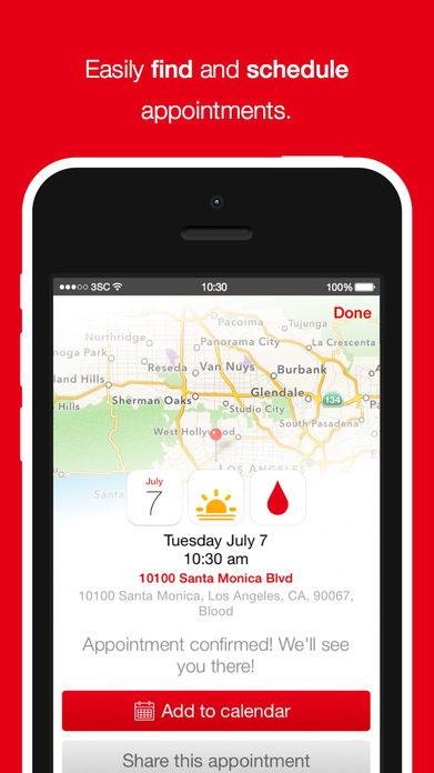 Blood Donor by American Red Cross Screenshot
