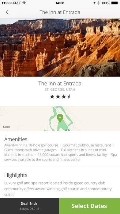 Groupon Getaways Hotel & Travel Deals Screenshot