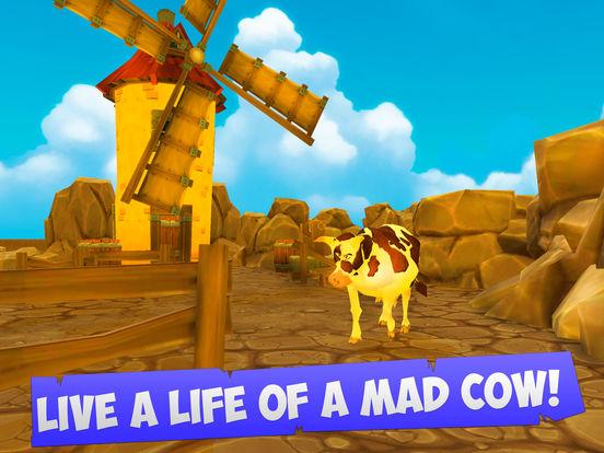 Mad cow cartoon video